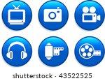 technology buttons original... | Shutterstock .eps vector #43522525