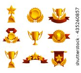 set of trophy  medals and award....