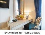 hotel room interior | Shutterstock . vector #435264007