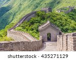 great wall of china | Shutterstock . vector #435271129