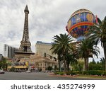 Las Vegas. Eiffel Tower. Nevad...