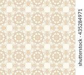 seamless geometric pattern on... | Shutterstock .eps vector #435284971