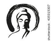 buddha   Shutterstock .eps vector #435315307