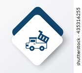 truck icon | Shutterstock .eps vector #435316255