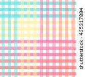 tartan pattern. seamless vector....   Shutterstock .eps vector #435317884