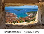 Hvar Bay Aerial View Through...