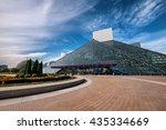 cleveland   oct 11   the rock... | Shutterstock . vector #435334669
