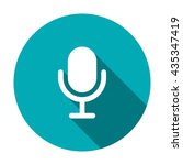microphone icon isolated vector ...