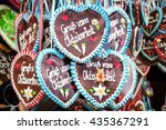 typical souvenir at the... | Shutterstock . vector #435367291