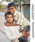 salunkwadi  india   november 5  ... | Shutterstock . vector #435379369