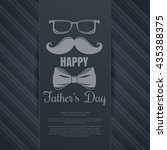 father's day card. mustache ...