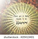 inspirational quote  ... | Shutterstock . vector #435413401