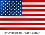 united state of america flag....   Shutterstock .eps vector #435466834