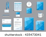 business stationery set... | Shutterstock .eps vector #435473041