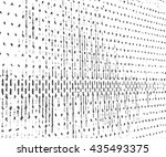 abstract grunge background.... | Shutterstock .eps vector #435493375