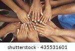 human hand. | Shutterstock . vector #435531601