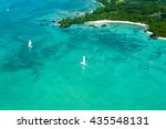 aerial picture of the east... | Shutterstock . vector #435548131