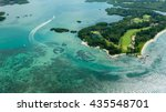 aerial picture of the east... | Shutterstock . vector #435548701