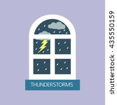 Thunderstorms And Window In...
