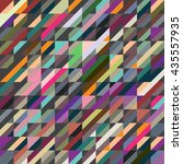 abstract geometric seamless... | Shutterstock .eps vector #435557935