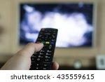 tune in tv   Shutterstock . vector #435559615