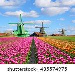 fantastic landscape with... | Shutterstock . vector #435574975