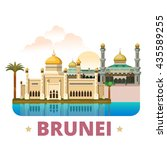 Brunei Country Design Template...