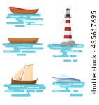 illustration of different kind... | Shutterstock .eps vector #435617695