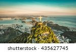 Aerial View Botafogo Bay From - Fine Art prints