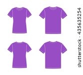 Mens And Womens Purple Short...