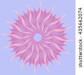 pink vortex  abstract geometric ...   Shutterstock .eps vector #435662074