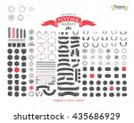 152 premium design elements.... | Shutterstock .eps vector #435686929
