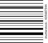horizontal straight parallel... | Shutterstock .eps vector #435687544