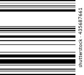 horizontal straight parallel... | Shutterstock .eps vector #435687661