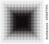 vector geometric seamless... | Shutterstock .eps vector #435697591