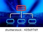 digital illustration of... | Shutterstock . vector #43569769