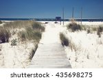 summer beach | Shutterstock . vector #435698275