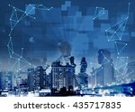 technology visual visible... | Shutterstock . vector #435717835