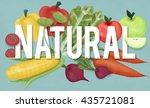 natural environmental... | Shutterstock . vector #435721081