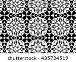 picture with black and white... | Shutterstock . vector #435724519