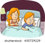 illustration of a sexually... | Shutterstock .eps vector #435729229