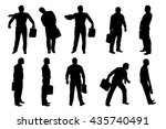 picture of businessman | Shutterstock .eps vector #435740491