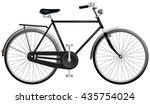 bicycle  roadster or simply...   Shutterstock .eps vector #435754024