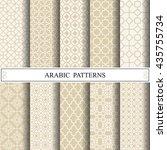 arabic vector pattern   Shutterstock .eps vector #435755734