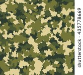 camouflage military fashion... | Shutterstock .eps vector #435778669