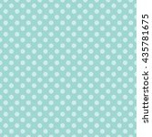 seamless polka dots pattern... | Shutterstock .eps vector #435781675