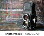 Old Vintage Camera In Artist's...