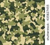 camouflage military fashion... | Shutterstock .eps vector #435827455