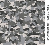 camouflage military fashion... | Shutterstock .eps vector #435827551