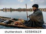 kashmir march 19  man posing on ...   Shutterstock . vector #435840619